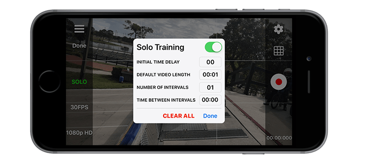 Secounds Count App - Solo Training
