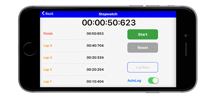 Seconds Count App - Stopwatch